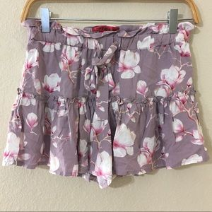 Hot Kiss Cute Women's Floral Shorts Small